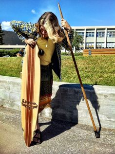 Kahuna longboard and big stick owned by Collin