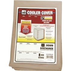 PPS PACKAGING COMPANY C5D Canvas Evaporative Cooler Cover Down Discharge 34 x 34 x 40 >>> Read more reviews of the product by visiting the link on the image.