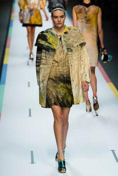 Fendi Spring 2013 Ready-to-Wear Fashion Show - Maria Bradley