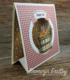 Have you checked out the Creative Crew Challenge Galleries at Splitcoast Stampers? I've joined the crew from September through to December! Fancy Fold Cards, Folded Cards, 3d Paper Crafts, Shaped Cards, Easel Cards, Tent Cards, Card Making Techniques, Thanksgiving Cards, Pop Up Cards