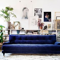 London lifestyle store Att Pynta has just launched its first furniture collection – a selection of velvet sofas and ottomans by Swedish brand Meli Meli Home
