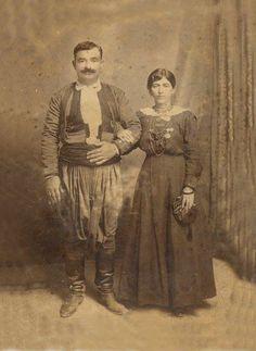 A Cretan couple...19th century