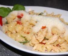Rezept Europa trifft auf Asien : Tacchino Piccante mit Hähnchen sweet Chili (a la Vapiano) von thermo-nator - Rezept der Kategorie Hauptgerichte mit Fleisch