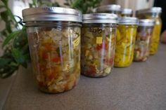 End of the Summer Squash Relish