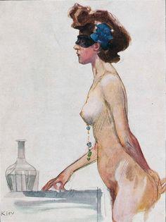 zombienormal:  Heinrich Kley, Jugend magazine cover art, 1932. Via.