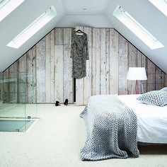Looking for ideas for a loft conversion? Take a look at our great attic renovation ideas, from bedroom loft conversions to bathroom loft conversions Attic Master Bedroom, Attic Bedroom Designs, Attic Bedrooms, Bedroom Loft, Home Bedroom, Bedroom Ideas, Attic Bathroom, Attic Design, Bedroom Decor