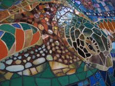 Mosaic Sea Turtle ~ This is so beautiful!!