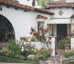 California Hacienda, Mediterranean Revival, Casa Espana - Google Search