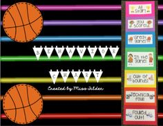 This basketball themed behavior chart is perfect for everyday use, or use it in combination with my March Madness book tournament for the month of March. Included in this product is a note to send home to parents explaining the behavior chart and how it works.