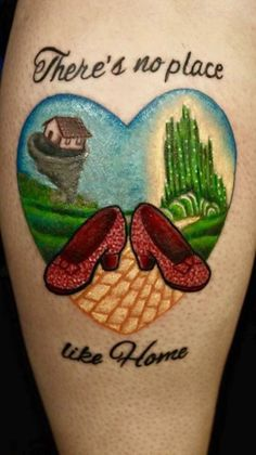 Wizard of oz tattoo Done by Justin Mullins at Outta line Palataka, Fl