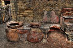 Herculaneum Ruins (Near Pompei) Ancient Pompeii, Pompeii And Herculaneum, Ancient Ruins, Ancient Artifacts, Ancient Greece, Ancient History, European History, Ancient Egypt, American History
