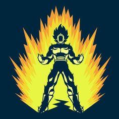 Super Power Up T-Shirt $12.99 Dragon Ball tee at Pop Up Tee!
