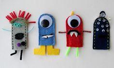 Lil Monster Finger Puppets