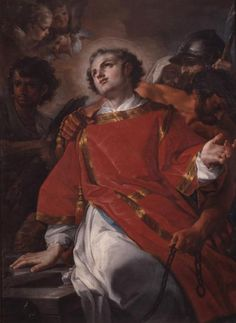 Martyre de Saint Laurent, Corrado Giaquinto, XVIII