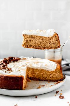 Pumpkin Pecan Cheesecake, Cheesecake Bars, Cheesecake With Whipped Cream, Fall Baking, Canned Pumpkin, Dessert Recipes, Desserts, Let Them Eat Cake, Sweet Recipes