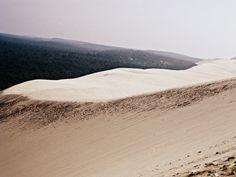 Dune du pyla. Dune in France.  Nice landscape. Relaxing.