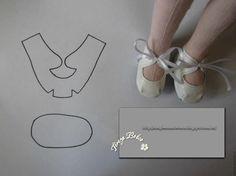 Sapatos para bonecas ♥