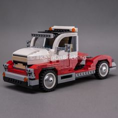 LEGO MOC 10220 Big Rig by Keep On Bricking | Rebrickable - Build with LEGO Brick Saw, Group Of Companies, Lego Parts, Lego Creator, Lego Moc, Rigs, Building, Lego Pieces, Buildings