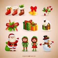 NADAL, CHRISTMAS, SANTA, PERSONATGES