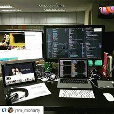 #Repost @j1m_moriarty with @repostapp  #apple #applegeek #macintosh #photographer #everydaycarry #workspace #html5 #geek #developer #workplace #javascript #macos #webdeveloper #vanagonlife #macbook #ux #php #programming #mysql #softwaredeveloper #arduino #picture #linux #art #designer #workstation #java #coder #travel by ikarmen_