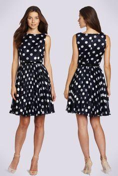 Adrianna Papell  Navy Work Dress