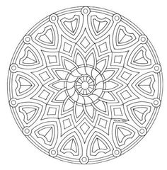 Mandala color page. Miscellaneous coloring pages. Coloring pages for kids. Thousands of free printable coloring pages for kids! Abstract Coloring Pages, Flower Coloring Pages, Mandala Coloring Pages, Coloring Book Pages, Coloring Pages For Kids, Coloring Sheets, Mandala Art, Celtic Mandala, Mandala Pattern