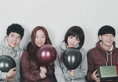 Park Seul, Park Tae Jun, Kim Ja Young, Park Hyung Seok
