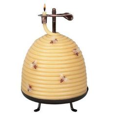 for mom Candle by the Hour 120 Hour Beehive Coil Candle-20642B - The Home Depot