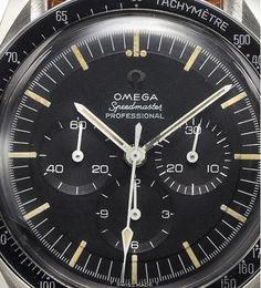 vintage Omega Speedmaster.