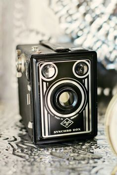 One of the first cameras I used was an old brownie. I love old cameras with character.