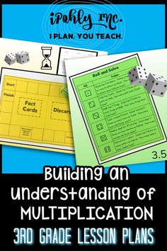#3rdgrade teachers, you have all summer to get ready for next year!  #Classroom setup, #lessonplanning, #organization... Let me take something off your plate and plan your math class! This #multiplication unit plan includes #worksheets, #games, #stations, #activities, #centers and more. Standards and target goals are even listed for each unit to save you even more time!  Check out ipohlyinc.com for more amazing #guidedmath lessons! Math Lesson Plans, Math Lessons, Classroom Setup, Math Classroom, 3rd Grade Math Worksheets, Math Talk, Learning Targets, Math Words, Student Data