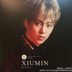 Xiumin - 161206 'Coming Over' album contents photo Credit: EXO-L_Japan.