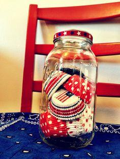 Patriotic Cupcake Liners
