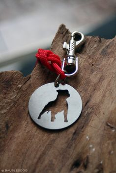 Free Shipping - Keychain Staffordshire Bull Terrier Staffie Staff Staffy Stainless steel cutout on Etsy, $27.00