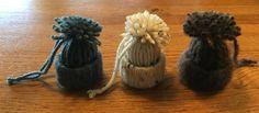 IJsmutsjes van een stukje toiletrol en restje wol