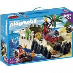 Playmobil - Pirates Super Set - PIRATES' COVE (#4007) PLAYMOBIL®,http://www.amazon.com/dp/B004FNRSRG/ref=cm_sw_r_pi_dp_26r9sb0NWE2EMMTN  http://mandksales.net/