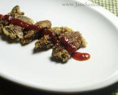 Crispy Fried Chicken Livers ~~ Wish I wasn't allergic to tapioca... Kids might like it though :o)