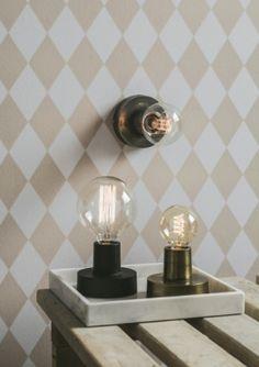 Notice bord & vegglampe Sconces, Wall Lights, Lighting, Instagram Posts, Home Decor, Google, Kitchen, Wall, Modern
