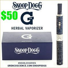 Flash Sale Friday $50 + Free Shipping to USA mainland addresses. Follow us: @vapeilluminate on Twitter | vapeilluminate on Facebook WHAT'S INCLUDED: 1 Rechargeable Snoop Dogg | G Pen Battery 1 Snoop Dogg | G Pen Loose Leaf Tank 1 G Pen USB Charger 1 G Wall-products Adapter 3 G Cleaning Tips 1 G Cleaning Brush 2 G Glass Sleeves http://vapeilluminate.com