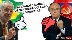 CORAJOSO! Alexandre Garcia EXPÕE colegas e dá um TAPA NA CARA da mídia m...