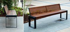 Scape III, Stadtmobiliar, public design, Bänke, Tische, Sitzbänke, Hockerbänke, Seating & tables, Rundbänke