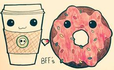Imagine bff, donuts, and friends