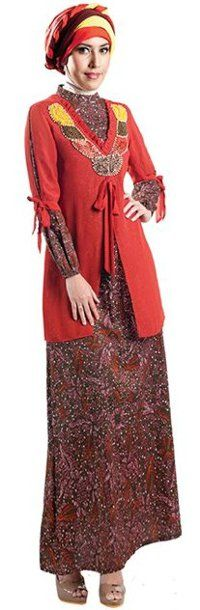 1000 Images About Gamis Batik On Pinterest Muslim