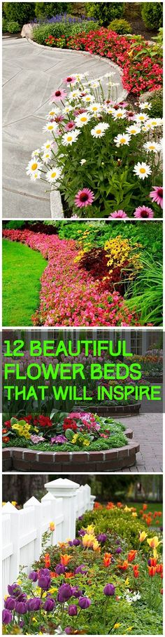 12 Beautiful Flower Beds that Will Inspire