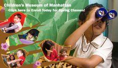 Weekend getaway idea:  hit the Children's Museum of Manhattan