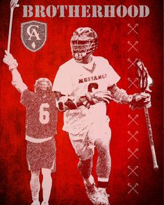 Lacrosse Customized Poster Sample Listing by MereImageDesign, $45.00