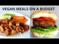 VEGAN MEALS ON A BUDGET (UNDER $3) - YouTube