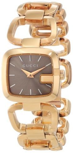 87fd43da14f70 Gucci Women s YA125511 G-Gucci Brown Sun Brushed Dial Watch  Gucci  Womens