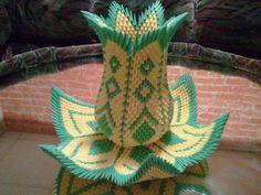 3D origami Vase Lotus par 3DOrigamiArtStudio sur Etsy