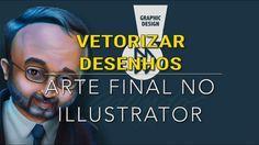Vetorizar desenhos ou arte final de quadrinhos no ilustrator
